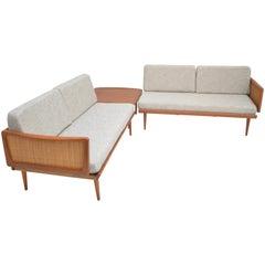 Peter Hvidt & Orla Mølgaard-Nielsen FD451 Daybed Living Room Set