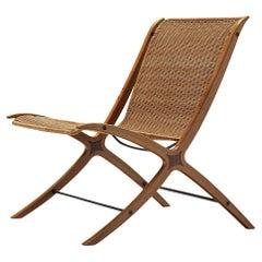 Peter Hvidt & Orla Mølgaard Nielsen for Fritz Hansen Chair Model '6103' in Cane