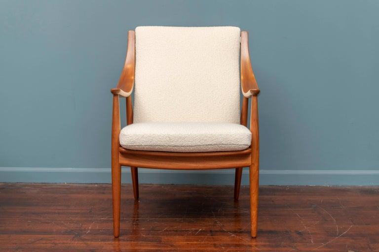 Peter Hvidt & Orla Mølgaard-Nielsen Model FD-146 Lounge Chairs For Sale 2