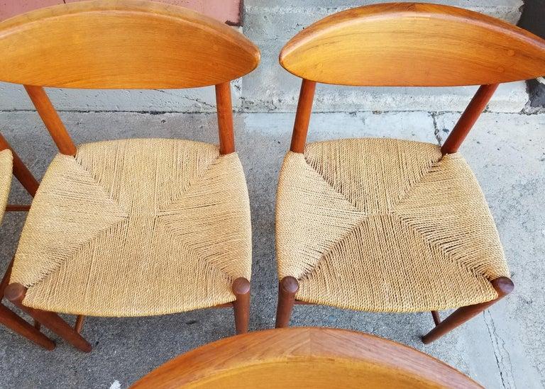 Peter Hvidt & Orla Mølgaard-Nielsen Teak Dining Chairs Set 10 9
