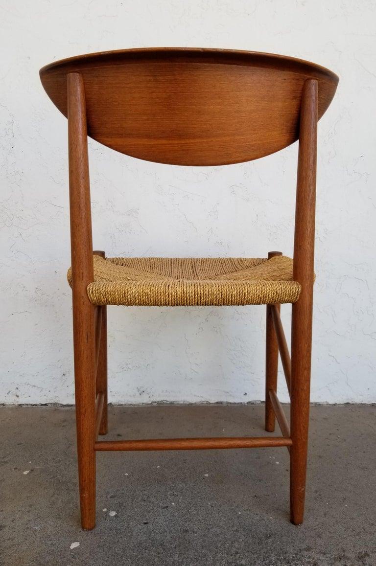 20th Century Peter Hvidt & Orla Mølgaard-Nielsen Teak Dining Chairs Set 10