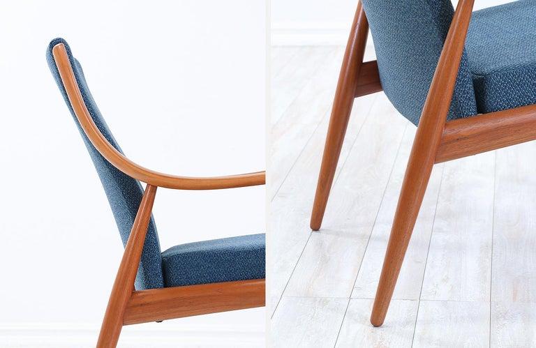 Peter Hvidt & Orla Mølgaard-Nielsen Teak Lounge Chairs for France & Søn 5