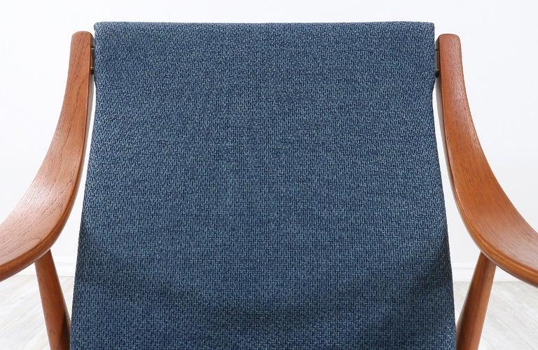 Peter Hvidt & Orla Mølgaard-Nielsen Teak Lounge Chairs for France & Søn 1