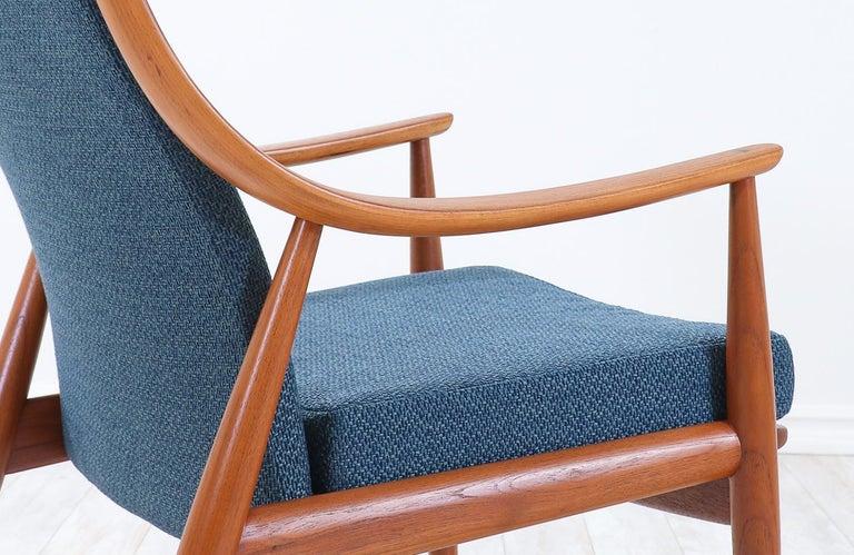 Peter Hvidt & Orla Mølgaard-Nielsen Teak Lounge Chairs for France & Søn 2