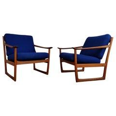 Peter Hvidt & Orla Mølgaard-Nielsen Teak Lounge Chairs