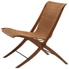 Peter Hvidt & Orla Mølgaard-Nielsen 'X' Chair, Denmark, 1950-1960
