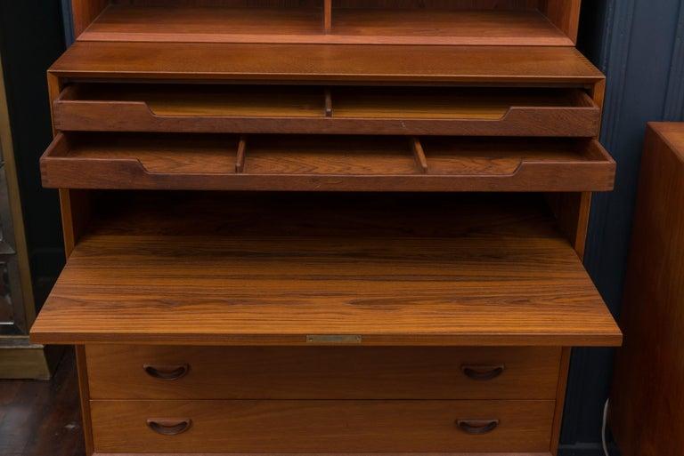 Peter Hvidt & Orla Mølgaard Secretary Bookcase In Excellent Condition For Sale In San Francisco, CA