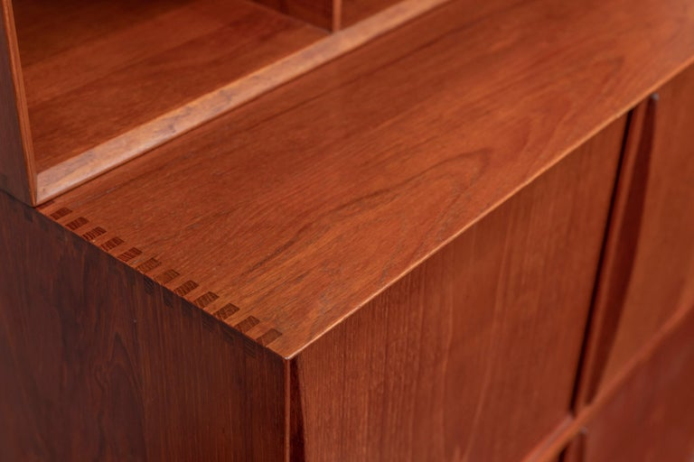 Peter Hvidt & Orla Molgaard Nielsen Bookcase Cabinet In Good Condition For Sale In San Francisco, CA