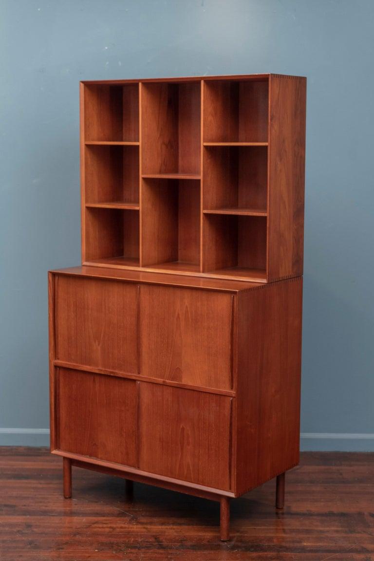 Mid-20th Century Peter Hvidt & Orla Molgaard Nielsen Bookcase Cabinet For Sale