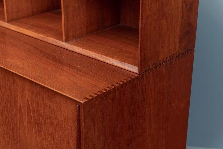 Peter Hvidt & Orla Molgaard Nielsen Bookcase Cabinet For Sale 1