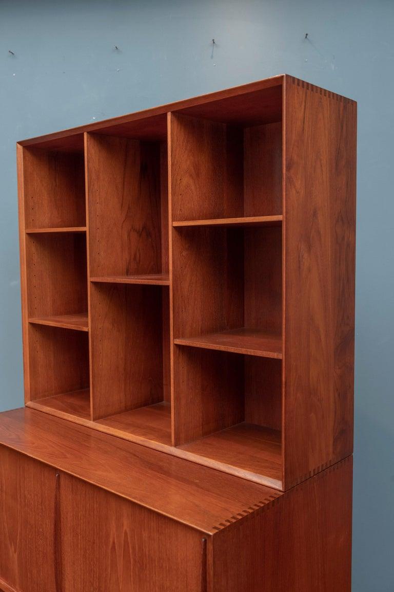 Peter Hvidt & Orla Molgaard Nielsen Bookcase Cabinet For Sale 2