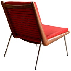 Peter Hvidt & Orla Molgaard Nielsen Boomerang Chair Manufactured By France & Son