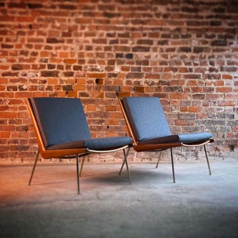 Peter Hvidt & Orla Molgaard-Nielsen Boomerang Chairs FD134 by France & Son 1955