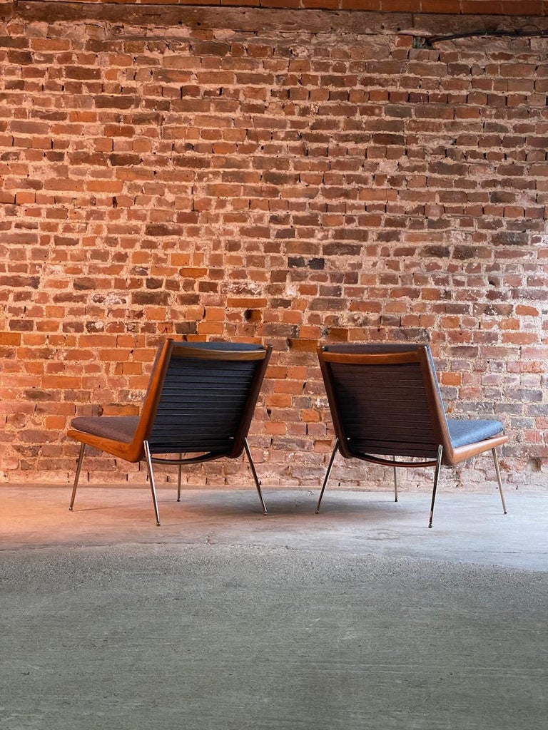 20th Century Peter Hvidt & Orla Molgaard-Nielsen Boomerang Chairs FD134 by France & Son, 1955 For Sale