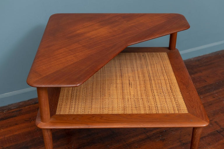 Peter Hvidt & Orla Moregaard Corner Table for France & Son In Good Condition In San Francisco, CA