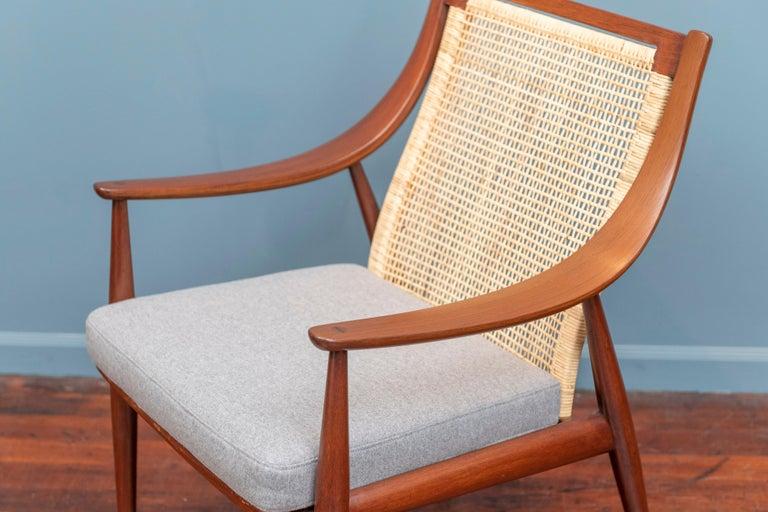 Scandinavian Modern Peter Hvidt & Orla Morgaard Nielsen Armchair For Sale