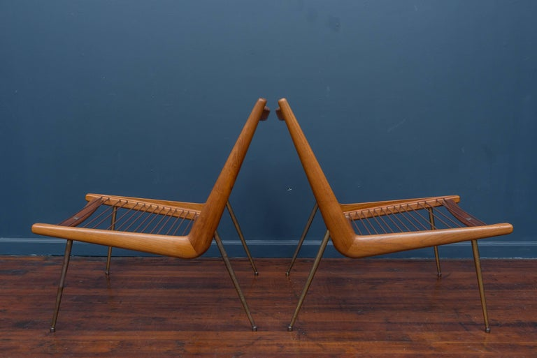 Peter Hvidt & Orla Morgaard Nielsen Bommerang Lounge Chairs For Sale 3