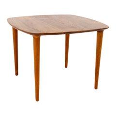 Peter Hvidt Style Mid Century Danish Teak Side End Table