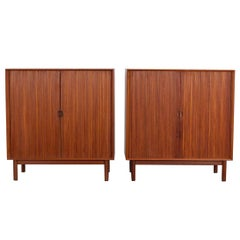 Peter Hvidt Tambour Cabinets