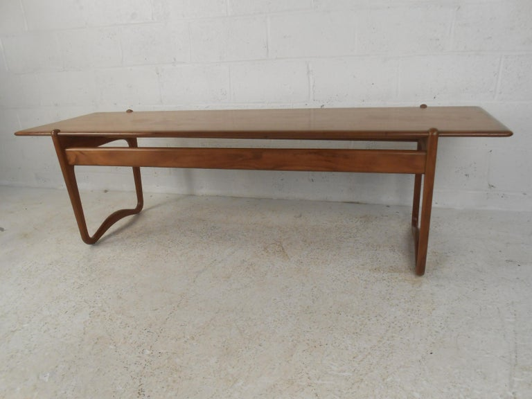 Danish Peter Hvidt Teak Coffee Table For Sale