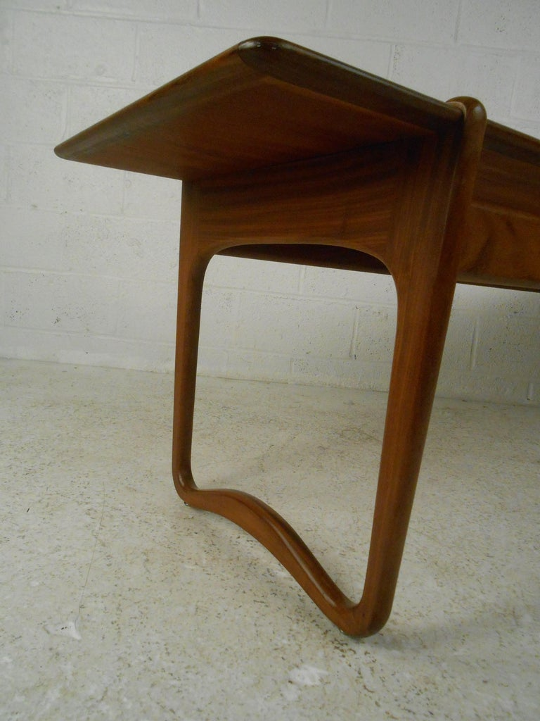 Peter Hvidt Teak Coffee Table For Sale 1