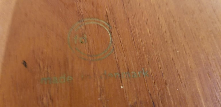Peter Hvidt Teak Danish Modern End Tables, A Pair For Sale 6