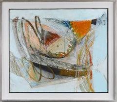 Lake Edge abstract painting
