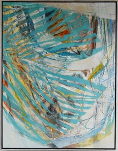 Swash, large abstract painting