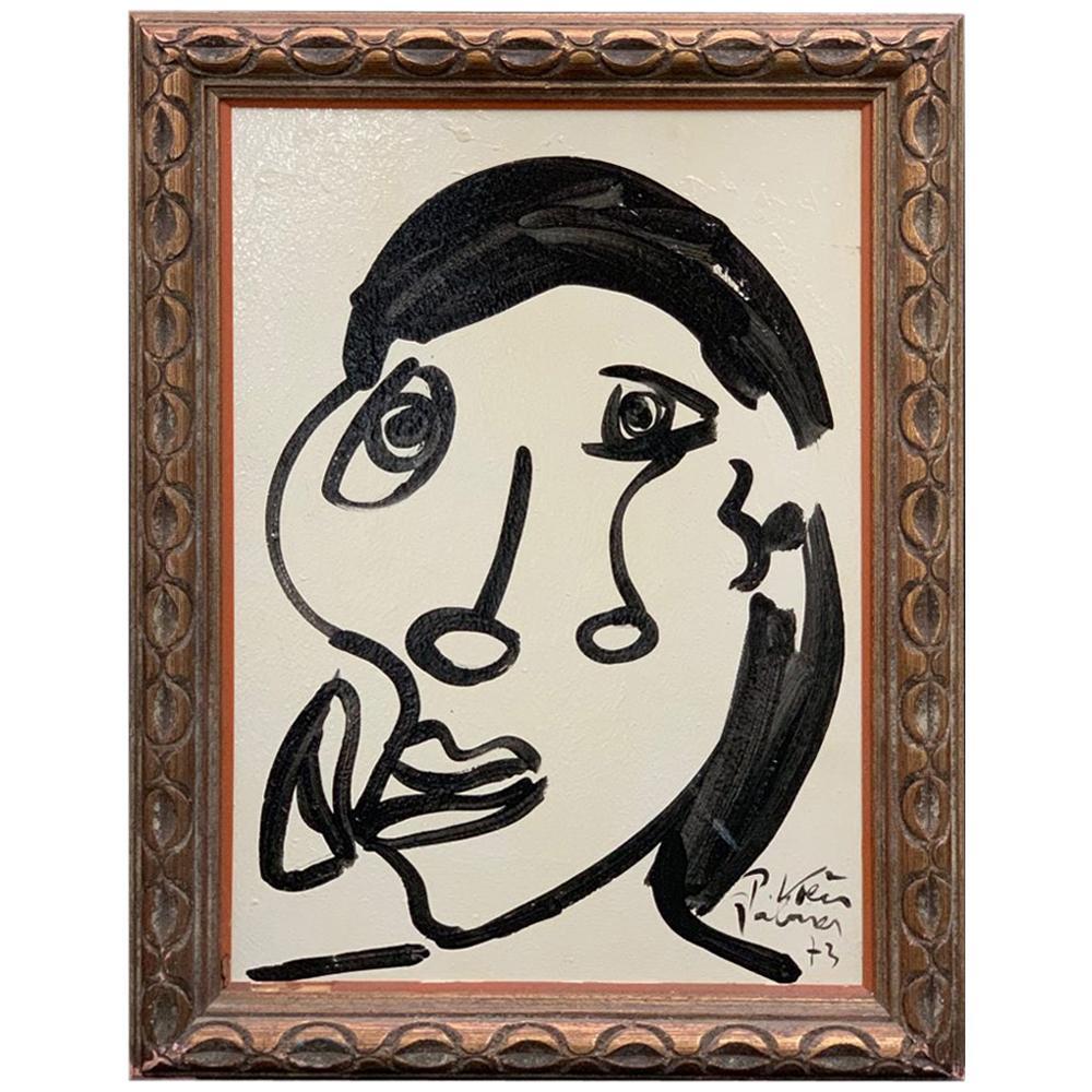 "Peter Keil ""Sophia Loren"" Portrait Oil Painting"