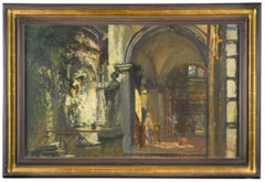 Archway and Statue, Venice