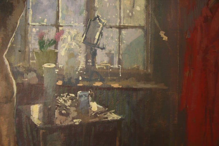 First of the Morning Light oil on canvas,64x78 I love the gentle light falling on the model from a very beautiful window. Born in 1952, Kuhfeld studied at Leicester School of Art between 1972 and 1976. In 1978 he secured a place at the Royal Academy