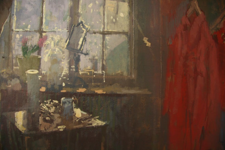 FIRST OF THE MORNING SUN.PETER KUHFELD NEAC RP 1952 contemporary British Artist For Sale 2