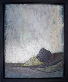 Abstract Landscape - British fifties art abstract oil painting