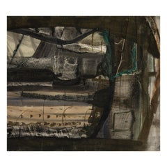 Peter Lanyon, Winter Landscape, Anticoli Corrado, Watercolor, Gouache, 1953