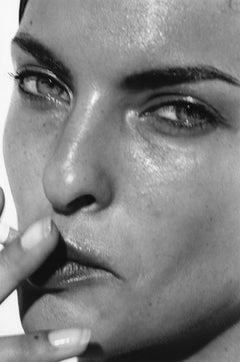 Linda Evangelista (Paris) – Peter Lindbergh, Model, Portrait, woman, 90s, photo