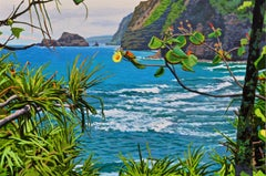 Big Island  / oil on canvas painting - 24 x 36 inches