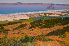Dunes at Morro Bay /  44 x 66 in. oil on canvas nature painting