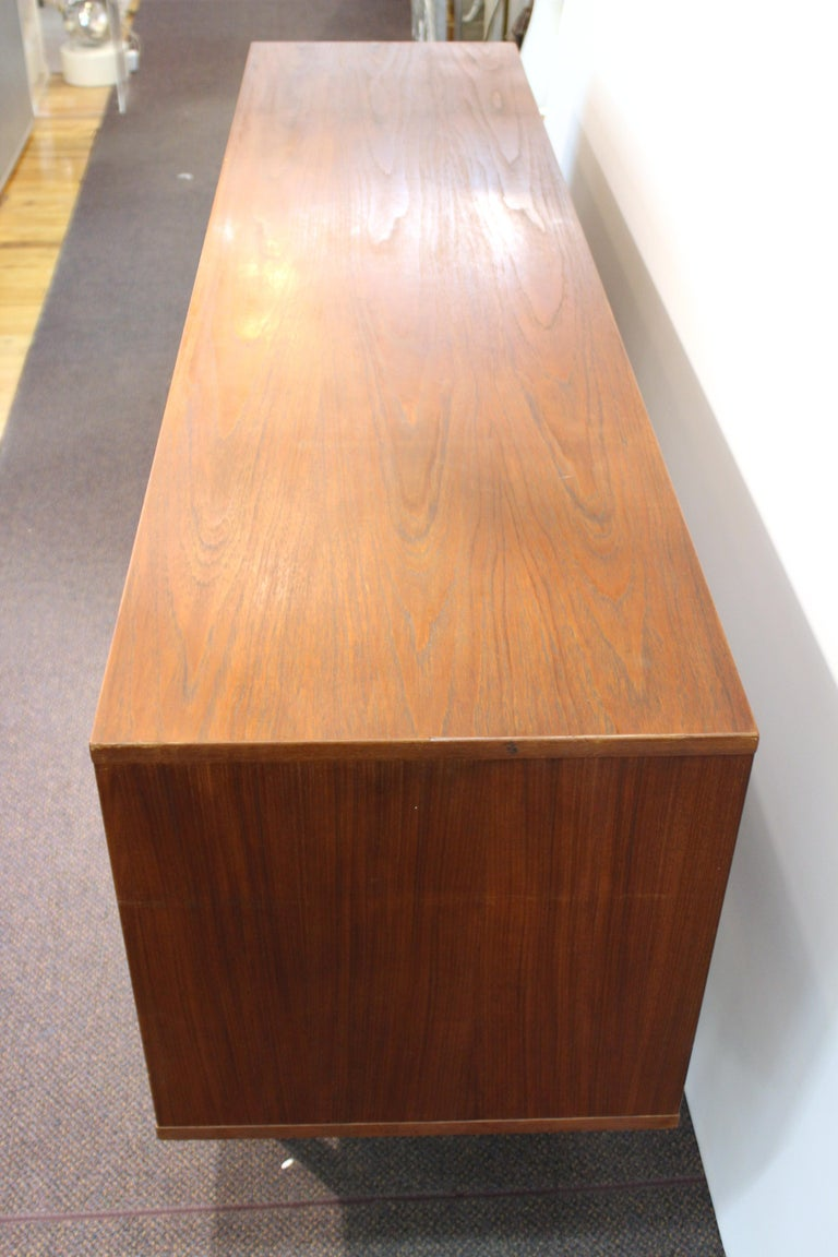 Peter Løvig Nielsen Danish Modern Credenza In Good Condition For Sale In New York, NY