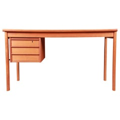Peter Løvig Nielsen Danish Modern Teak Sliding Top Desk