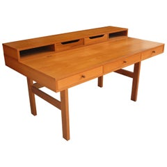 Peter Løvig Nielsen for Laurits M Larsen Scandinavian Modern Teak Desk