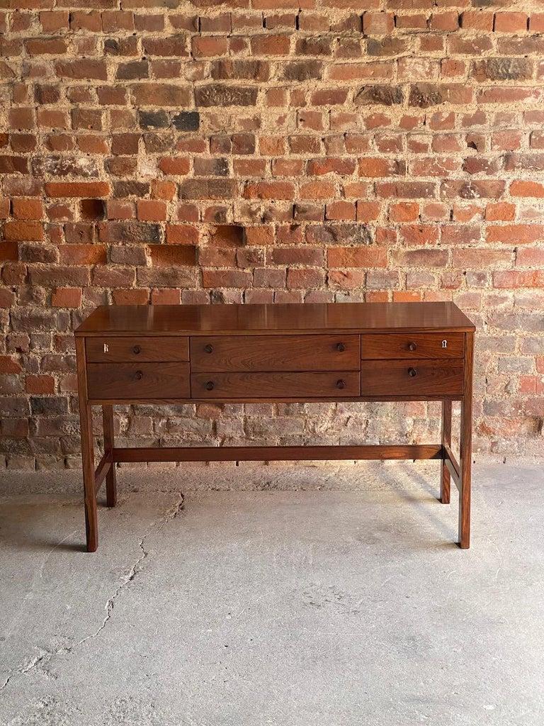 Peter Løvig Nielsen Rosewood Sideboard Console Table, Denmark, 1960 4