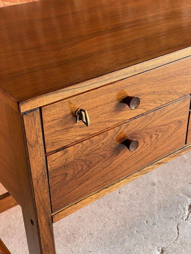 Peter Løvig Nielsen Rosewood Sideboard Console Table, Denmark, 1960 5