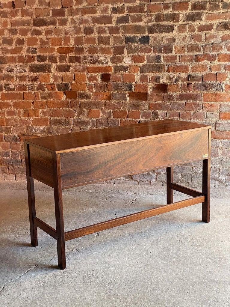 Mid-Century Modern Peter Løvig Nielsen Rosewood Sideboard Console Table, Denmark, 1960