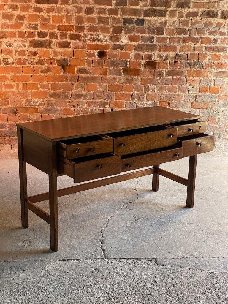 Mid-20th Century Peter Løvig Nielsen Rosewood Sideboard Console Table, Denmark, 1960