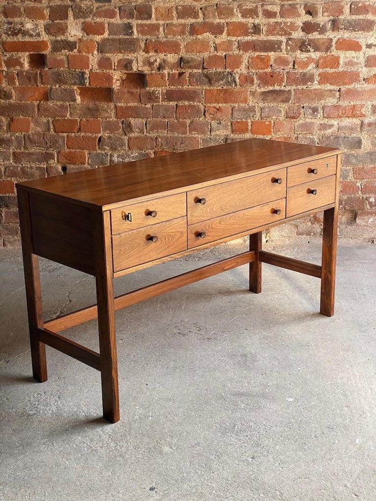Peter Løvig Nielsen Rosewood Sideboard Console Table, Denmark, 1960 3