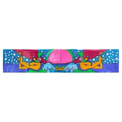 Peter Max 12-Foot-Wide Serigraph for 1970 de Young Museum Solo Exhibition 'A'