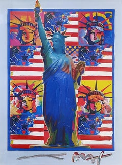 GOD BLESS AMERICA - WITH FIVE LIBERTIES