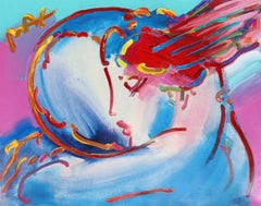 Peace by the Year 2000, Hand-Painted by Peter Max