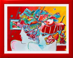 Peter Max Abstract Paintings