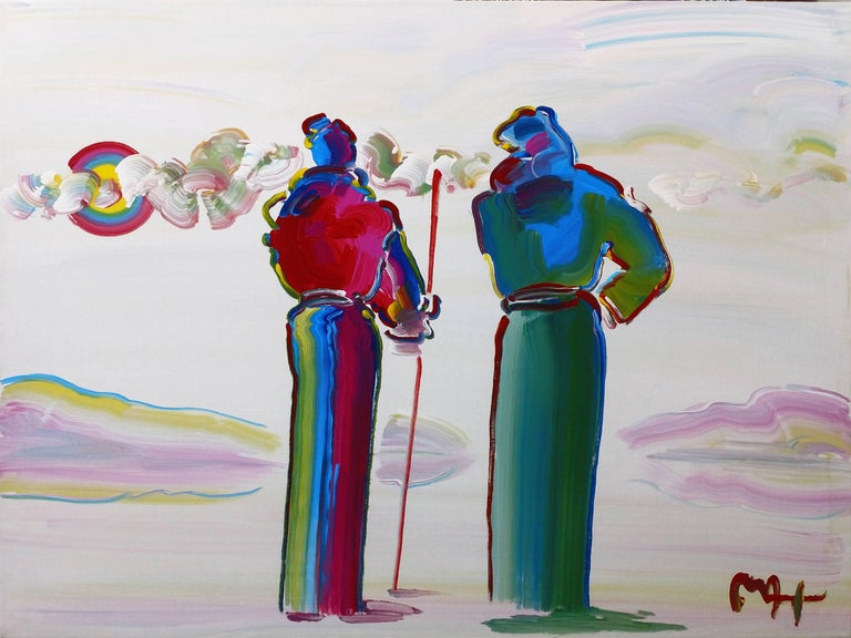 TWO SAGES, ONE WITH CANE VER. II #3